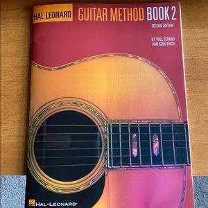 Guitar Method Book 2 by Hal Leonard